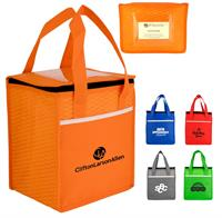 Rectangle Wave Lunch Tote