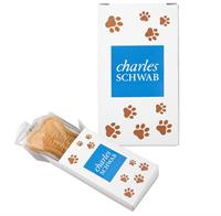 CPP-4307 - Logo Dog Cookie in Full Color Box