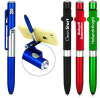 CPP-4411 - Phone Stand Flashlight Stylus Pen