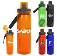 CPP-4518 - Locking Lid 24 oz. Colorful Bottle with Floating Infuser