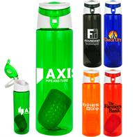 CPP-4524 - Trendy 24 oz Colorful Floating Infuser Bottle