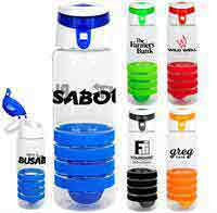 Trendy 28 oz. Sporty Ring Bottle with Floating Infuser