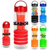 CPP-4544 - Arch 28 oz. Sporty Ring Bottle with Infuser