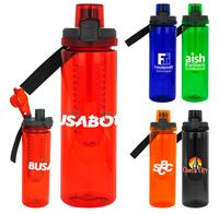 CPP-4547 - Locking Lid 24 oz. Colorful Bottle with Infuser