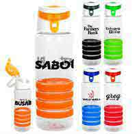 Trendy 28 oz. Sporty Ring Bottle