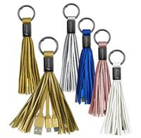 CPP-4586 - Tassel 2-in-1 Cable Keyring
