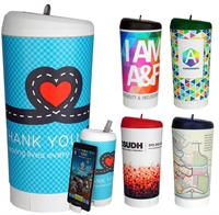 CPP-4591 - Full Color Phone Stand Pop Up Bottle