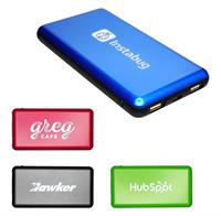 CPP-4639 - UL Tablet Light Your Logo Power Bank
