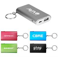 CPP-4674 - UL Keychain Light Up Power Bank