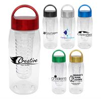 CPP-4880 - Metallic Arch 25 oz. Bottle with Infuser