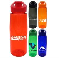 CPP-4882 - Easy Pour 25 oz. Colorful Contour Bottle