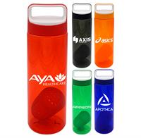 Boxy 24 oz. Colorful Bottle with Floating Infuser