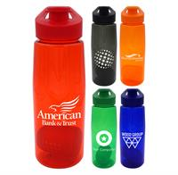 Easy Pour 25 oz. Colorful Contour Bottle with Floating Infuser
