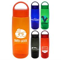 Arch 25 oz. Colorful Contour Bottle with Floating Infuser