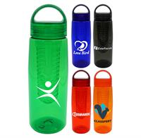 CPP-4897 - Arch 25 oz. Colorful Contour Bottle with Infuser