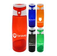 CPP-4898 - Trendy 25 oz. Colorful Contour Bottle with Floating Infuser