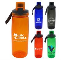 CPP-4901 - Locking 25 oz. Colorful Contour Bottle
