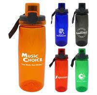 CPP-4901 - Locking 25 oz. Colorful Contour Bottle