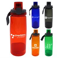 CPP-4907 - Locking 25 oz. Colorful Contour Bottle with Floating Infuser