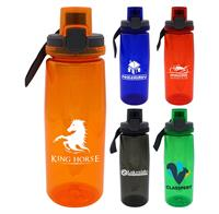 CPP-4918 - Locking Lid 25 oz. Colorful Contour Bottle with Chiller