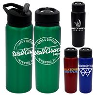 CPP-4941 - Pop Up 24 oz. Aluminum Bottle