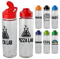 Easy Pour 22 oz. Glass Bottle