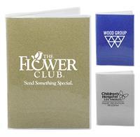 5 x 7 Glitter Notebook