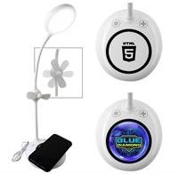 CPP-5022 - Wireless Charger Fan & Light