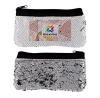 CPP-5039-MARBLE - VIBRANT MARBLE SEQUIN POUCH