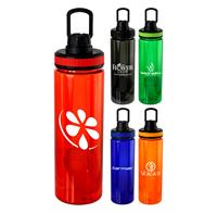 CPP-5119 - Band-It 24 oz. Colorful Bottle w Floating Infuser