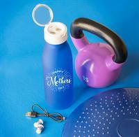 Silhouette Bluetooth Ear Bud Bottle