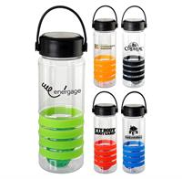 CPP-5165 - Handy 28 oz Sporty Ring Bottle with Floating Infuser