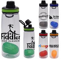 CPP-5181 - Band-It 25 oz. Contour Bottle with Floating Infuser