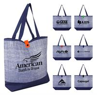 CPP-5206 - Blue Denim Tote Bag