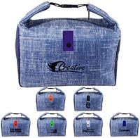 CPP-5212 - Blue Denim Lunch Cooler