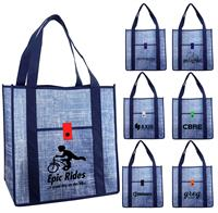CPP-5219 - Blue Denim Grocery Tote