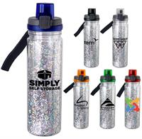 CPP-5296 - Locking 18 oz. Confetti Bottle