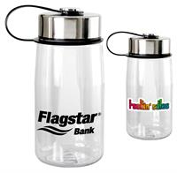 Metal Lanyard Lid 18 oz. Bottle
