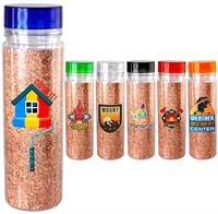 CPP-5318 - Clear View 18 oz. Full Color Cork Bottle
