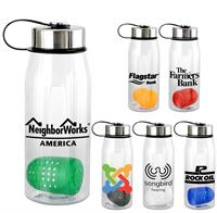 CPP-5350 - Metal Lanyard Lid 32 oz. Bottle with Floating Infuser