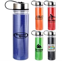 Metal Lanyard Lid 18 oz. Strand Insert Bottle