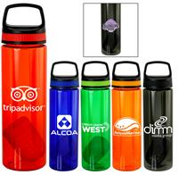 CPP-5368 - Handy Band-It Colorful 24 oz. Bottle with Floating Infuser