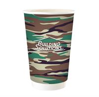 16 OZ FULL COLOR CAMO PAPER CUP
