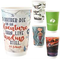 16 oz full color paper cup