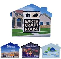 House Shaped Mircofiber Cleaning Cloth