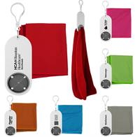 Keychain Holder with Cooling Cloth