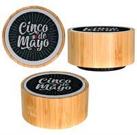CPP-5510-CincodeMayo - Bamboo Wireless Bluetooth Speaker