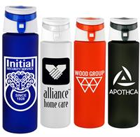 Trendy 24 oz. Rubberized Bottle