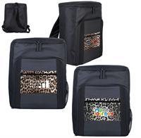 CPP-5636 - Leopard Pocket Cooler Backpack