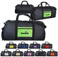 CPP-5643 - Colorful Pocket Duffle Bag